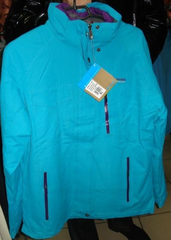 Зимняя куртка columbia titanium 3в1 omni-heat Columbia 5c7371b8d5fd8
