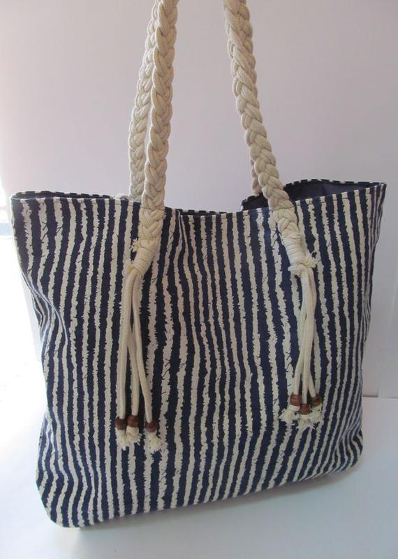 Стильная пляжная сумка в полоску, цена - 270 грн,  1958737, купить ... e22bd9bb1b0