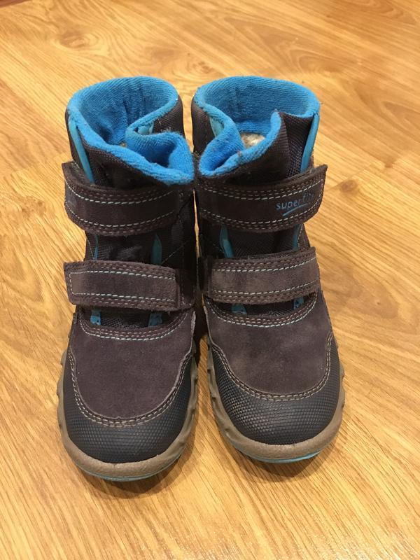 Ботинки superfit icebird серо-голубые 27р Superfit 89b8018b511d9