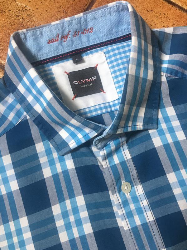 48cb4d8543623e3 Мужская рубашка olymp (l), цена - 460 грн, #17102430, купить по ...