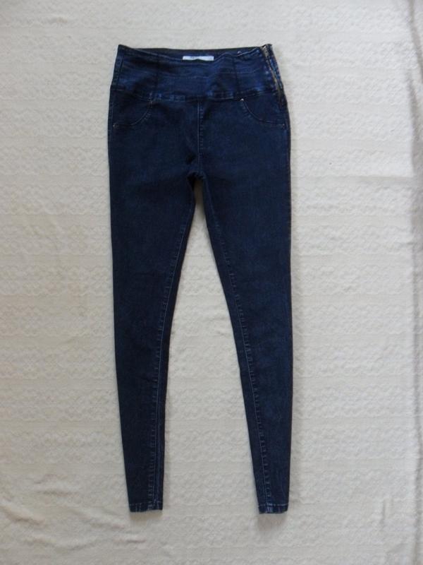 2aae6d6a4ce Стильные джинсы скинни с высокой талией fb sister
