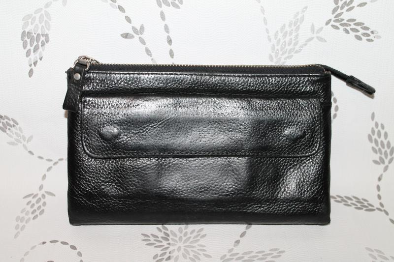 e2a7fb0c8f0b Кожаная сумка клатч/барсетка giorgio armani +много картхолдеров1 фото ...