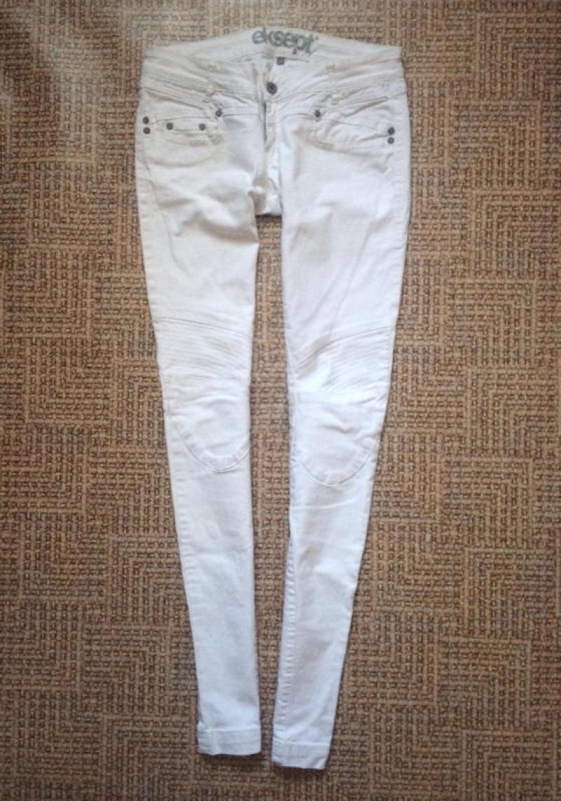 1b10d451d7f Белые джинсы - скинни от eksept1 фото ...