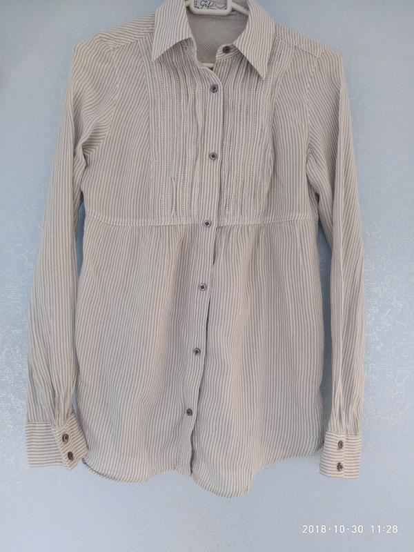 ec3dc7151773 Рубашка женская с длинным рукавом, летняя, размер s за 150 грн.