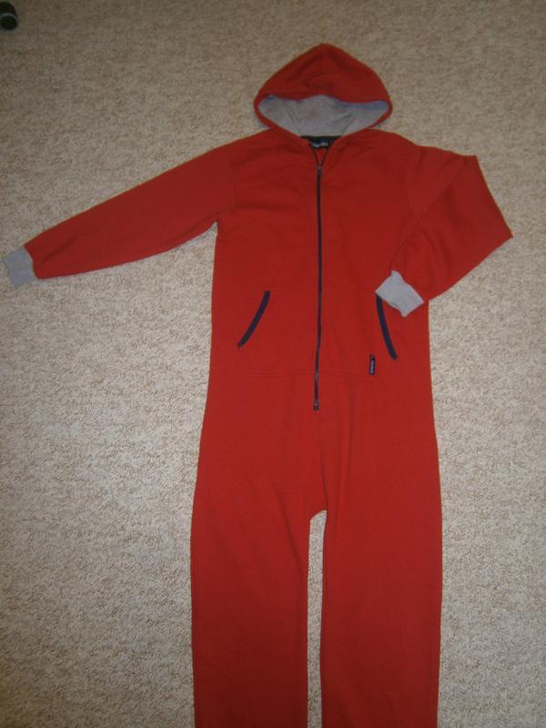 Красная мужская пижама-кигуруми 0bcc135f4c374