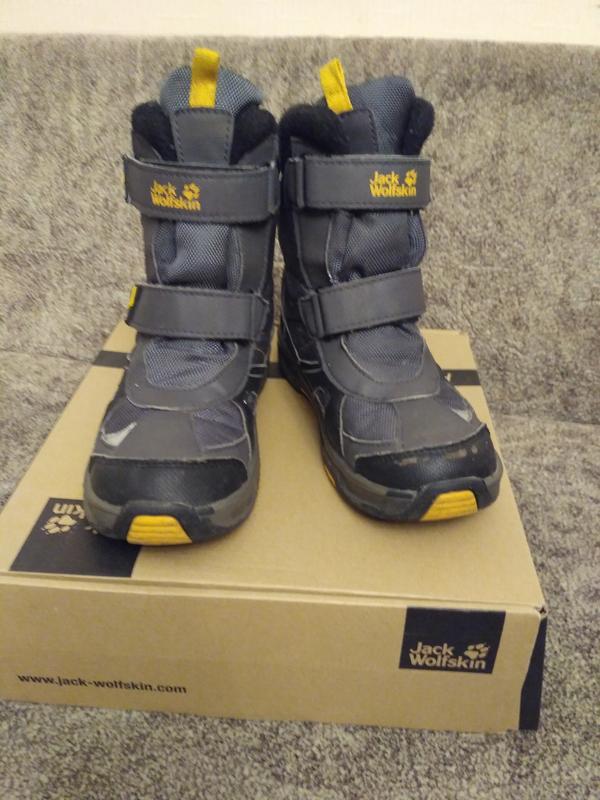 4b30dbe95 Зимние ботинки jack volfskin 33р Jack Wolfskin, цена - 800 грн ...
