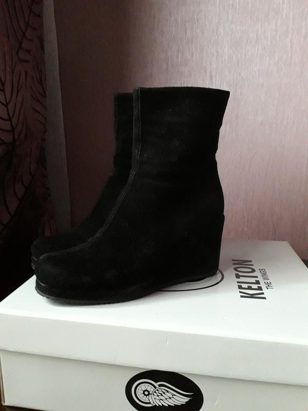 6ff724a3 Продам качественные зимние ботинки kelton италия Kelton, цена - 800 ...