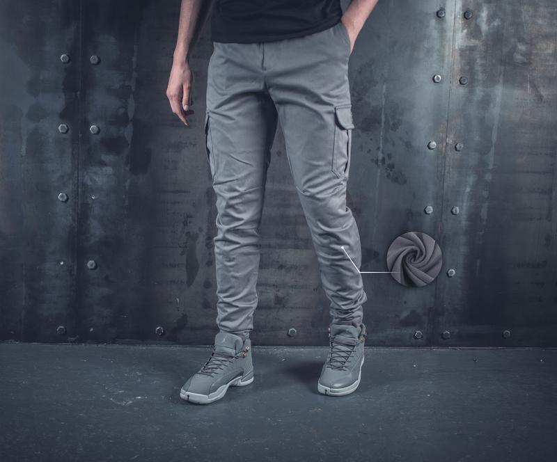 Мужские зимние штаны карго bezet grey  191 ... fa3c3974e2280