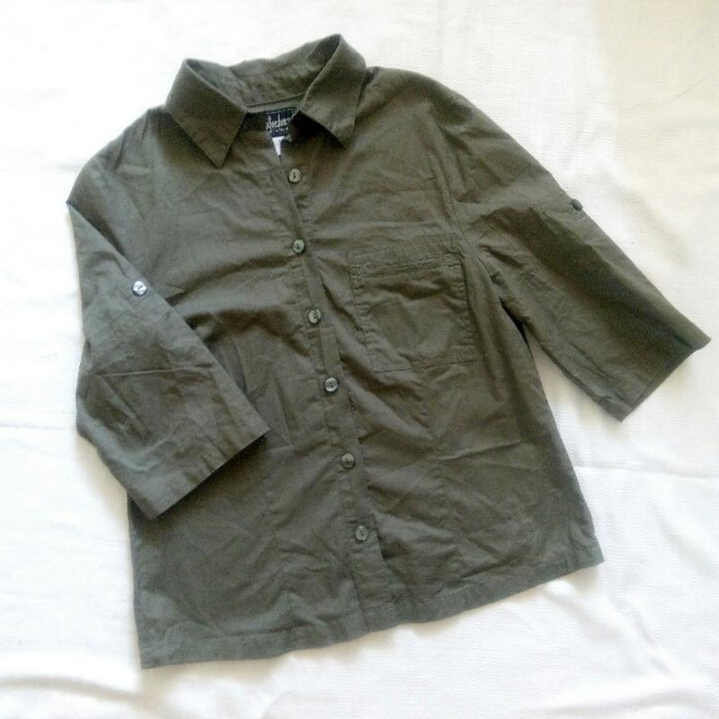 1f39b60c006 Рубашка цвета хаки Esmara