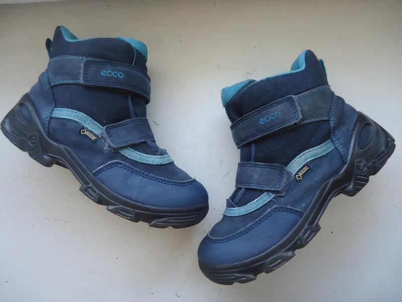 Зимние термо ботинки ecco 2a86183655cce