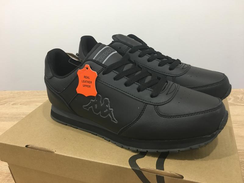 94af992e Мужские кроссовки kappa pesaro dlx черные оригинал 42-45 размер1 фото ...