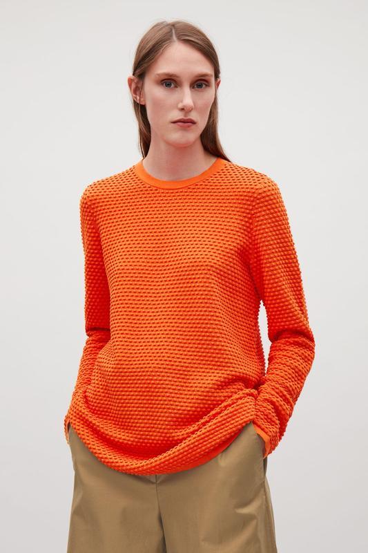 e7d32e528864 Cos свитер туника джемпер яркий хлопковый размер 36 s COS, цена ...
