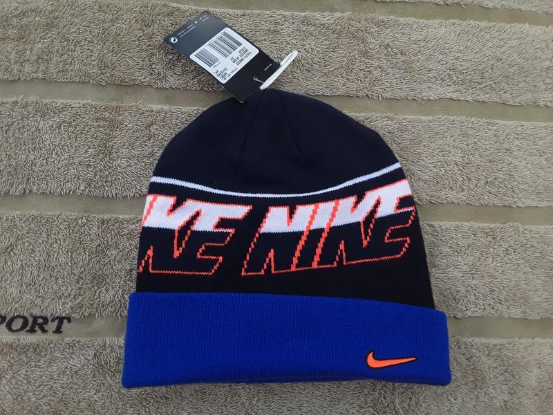 Брендова фірмова зимова шапка nike dc18d0ea7cc69
