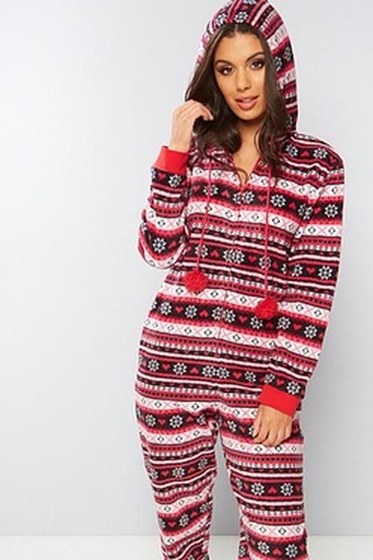 ce4e0ce031617 Классный теплый слип пижама кигуруми комбинезон.новогодний принт.s/m size1  фото ...