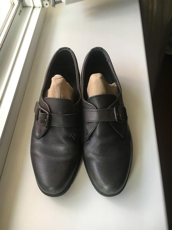 Кожаные закрытые туфли на платформе ecco Ecco a442b3be9dcda