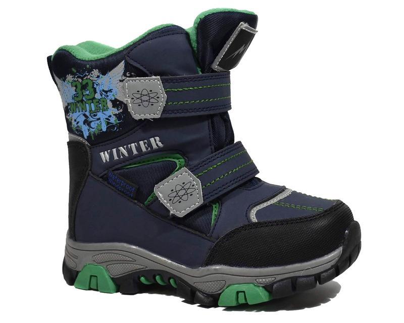 e6d230c56 Сноубутсы том.м арт.5091-c, blue-green зимние ботинки для мальчиков ...