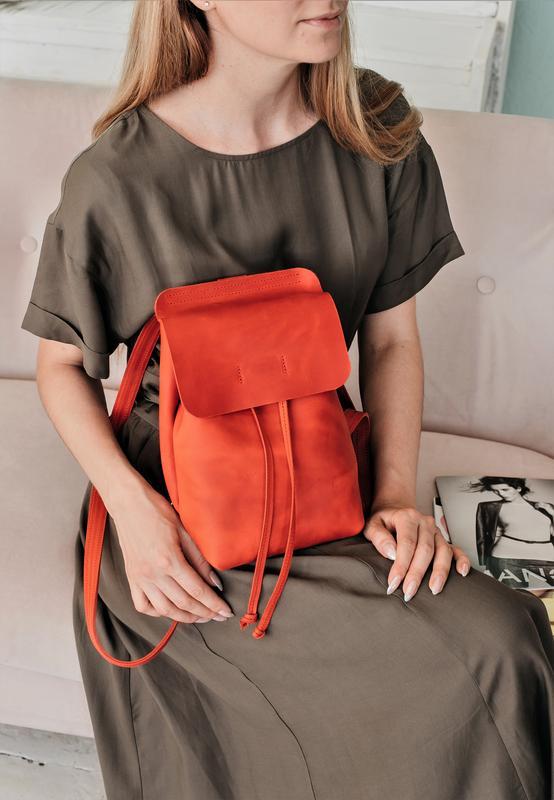 a5dadb63a707 Кожаный рюкзак ручной работы маленький рюкзак стильный рюкзак, шкіряний  рюкзак1 ...