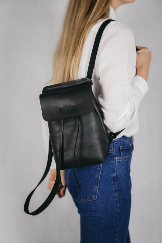 42535123a77a Кожаный рюкзак ручной работы маленький рюкзак стильный рюкзак, шкіряний  рюкзак1 фото ...