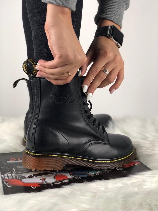 Шикарные женские ботинки ботинки dr martens 1460 black (36-40 рр.) с ... 3cde06e4a71e9