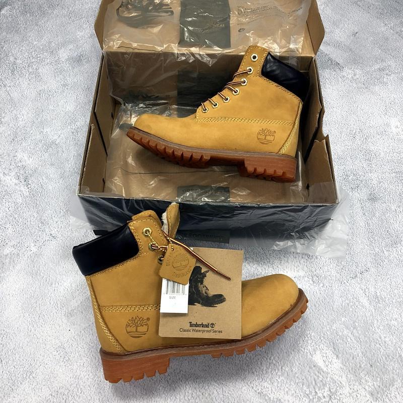 Очень тёплые зимние ботинки timberland с мехом унисекс (мужские  женские)  36-45 ... 6cb1661498505