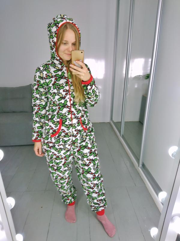 Теплое флисовое кигуруми комбинизон слип пижама №36 Love To Lounge ... 5e8d2fc319f78