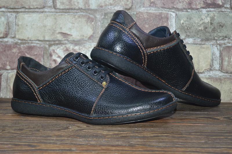 f0137224b ... Новые мужские кожаные туфли на шнурках. размеры 39-46. распродажа!5 фото