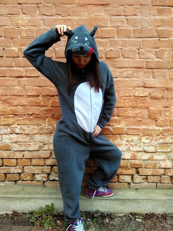 Пижама кигуруми волчица 0d2ff3c4e21f6