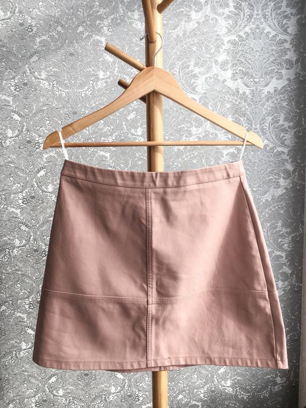 9061b5b0f2e5 Кожаная юбка new look (New Look) за 295 грн.   Шафа