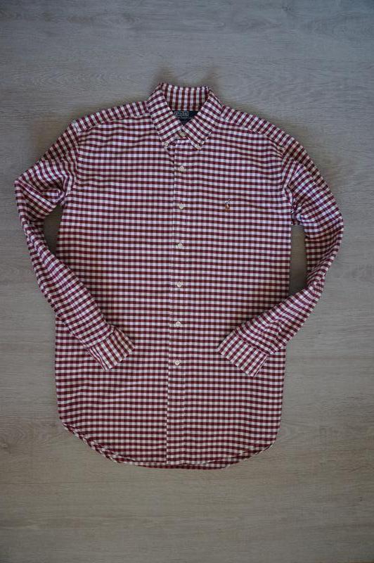 Продаю очень крутую, стильную мужскую рубашку в клеточку от ralph lauren1  ... b36ed8c8d9c