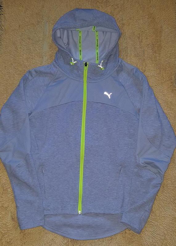 a8117b09aefa Оригинал.фирменная,спортивная кофта-олимпийка-толстовка puma keeps you dry1  ...