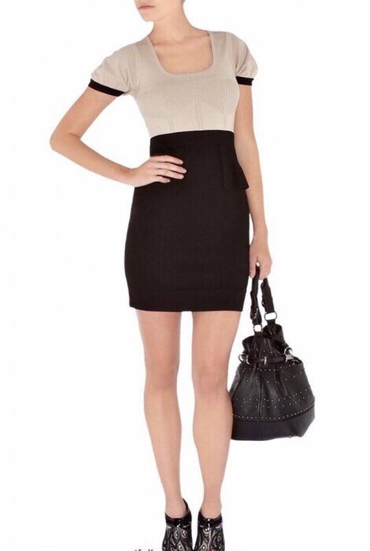 3ed1ad9fd66 Knit dress karen millen платье xs трикотажное облегающее1 ...