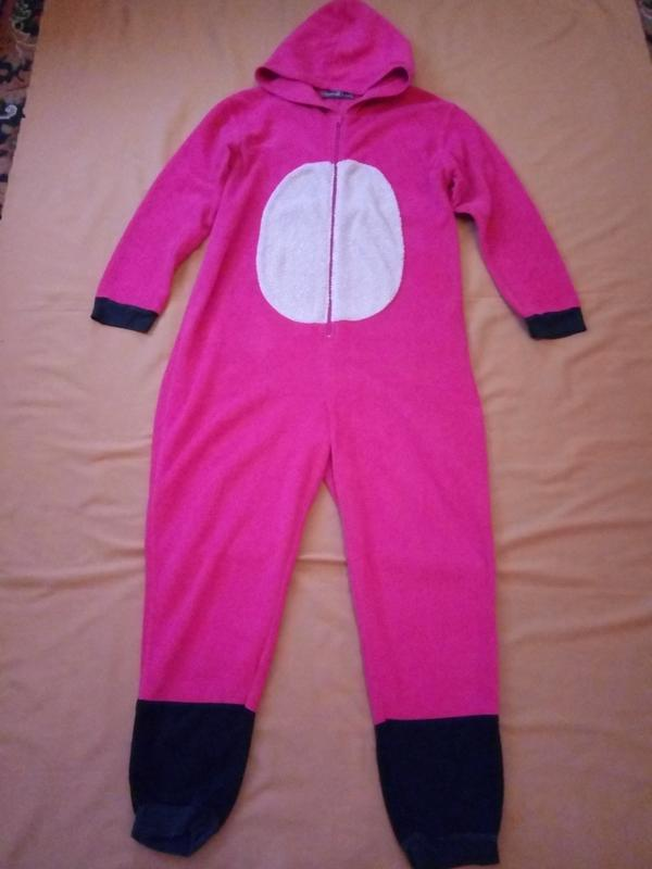 39e63882c211b Распродажа! теплый флисовый кигуруми комбинезон слип пижама с капюшоном1  фото ...