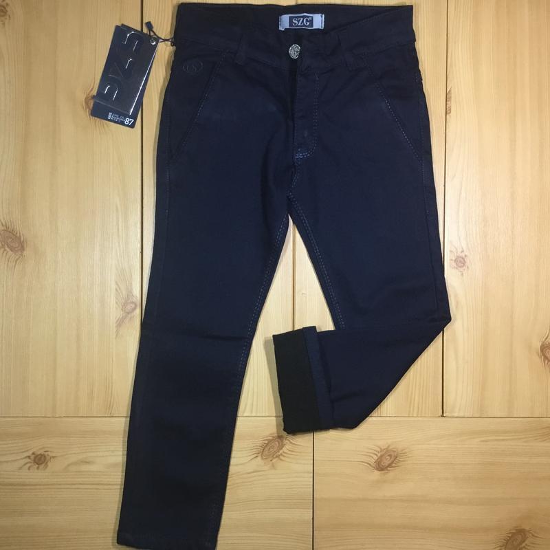 316f3ef3a283f34 Детские школьные брюки на флисе для мальчика рр. 110-152 beebaby (бибеби)  ...