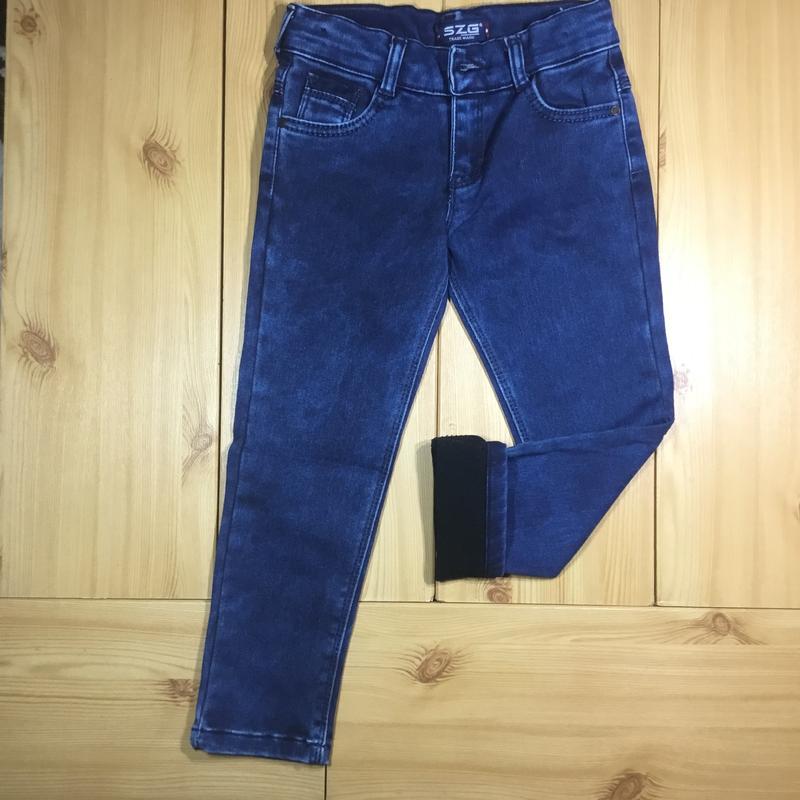 Детские утепленные джинсы на флисе для мальчика рр. 110-152 beebaby (бибеби) Турция, цена - 330 грн, #17486438, купить по доступной цене | Украина - Шафа