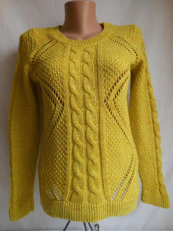 f23753f0cd7 Кофта джемпер желтого цвета oliver.оригинал!сделано для англии. (QS by  Oliver) за 130 грн.