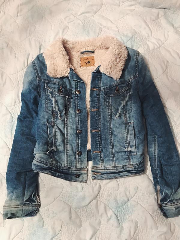 e9d4c529e6bc Шикарная куртка, джинсовая зимняя куртка Fishbone, цена - 550 грн ...