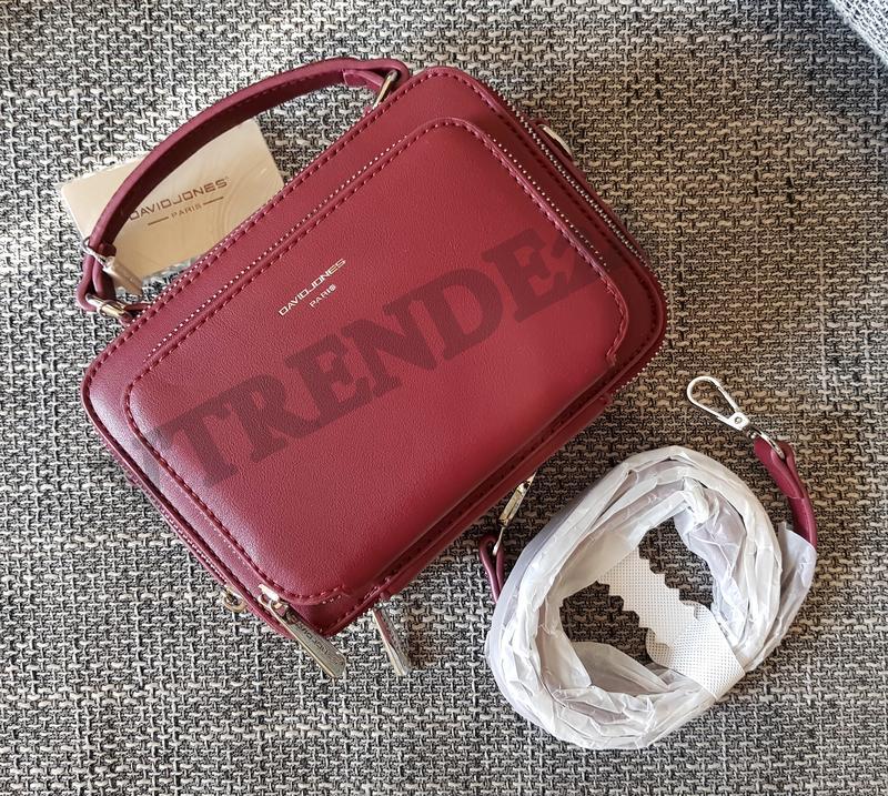 2afbc6a798ba Хит продаж #3966 dark red david jones женский каркасный брендовый клатч!1  фото ...