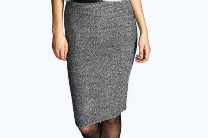 90d94b88a34 Теплая стильная трикотажная юбка карандаш р.м   l1 фото ...