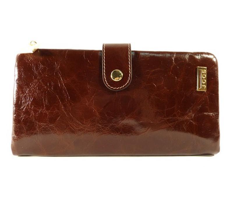 2d0f787f89c0 Кошелек женский кожаный jccs 1041 кофе, цена - 986 грн, #17547426 ...