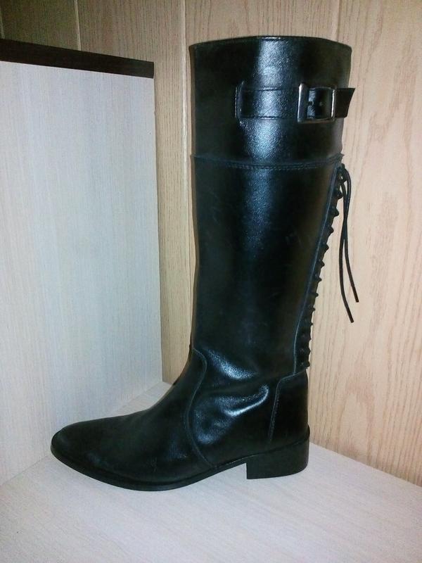 7c24824e3 Сапоги женские осенние кожаные, цена - 350 грн, #17557705, купить по ...