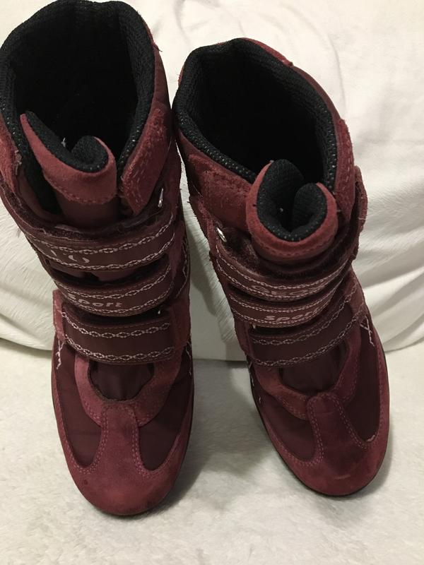 930547e85 Ботинки geox,сапожки на девочку 35р., сапоги, термо ботинки, мембранные1 ...