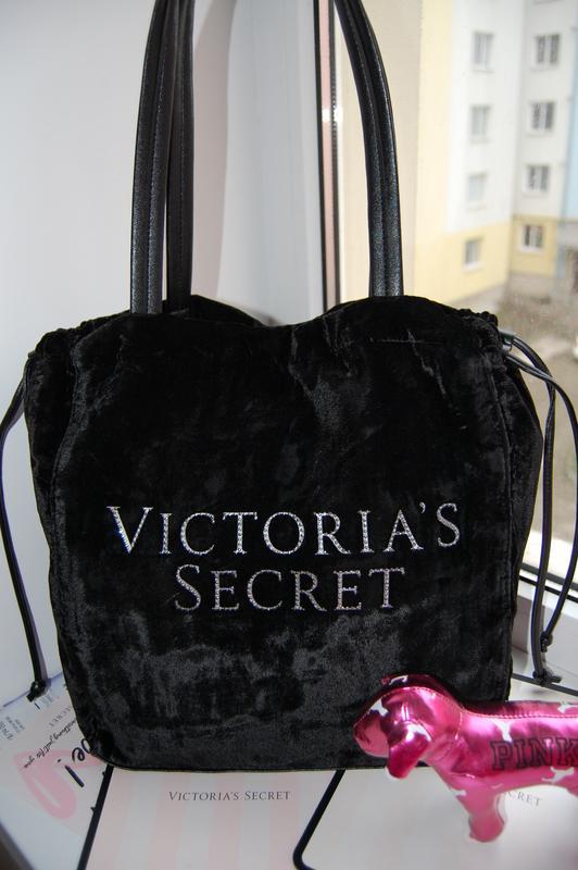 Бархатная сумка victorias secret виктория сикрет Victoria s Secret ... 487c0a5315b