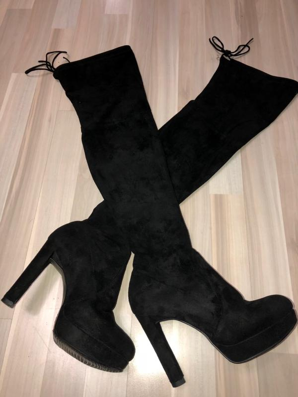 Крутые сапоги ботфорты со шнуровкой 37-38 размер за 800 грн.  d0f482788f149