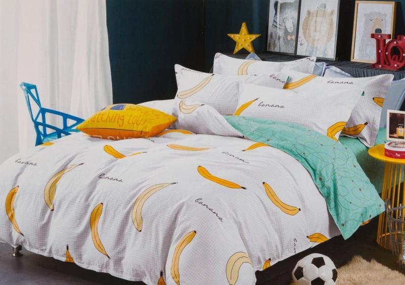 Подростковое полуторное постельное белье viluta сатин 238 бананы1 ... d35c1b9f924f7