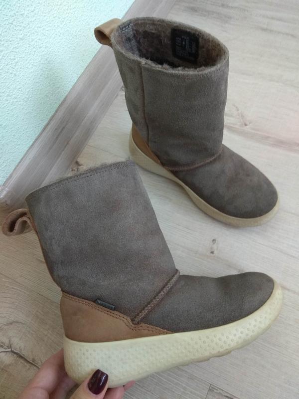 Ecco ukiuk kids gore-tex ботинки зимние сапожки размер 27 (17 f63fa81336656