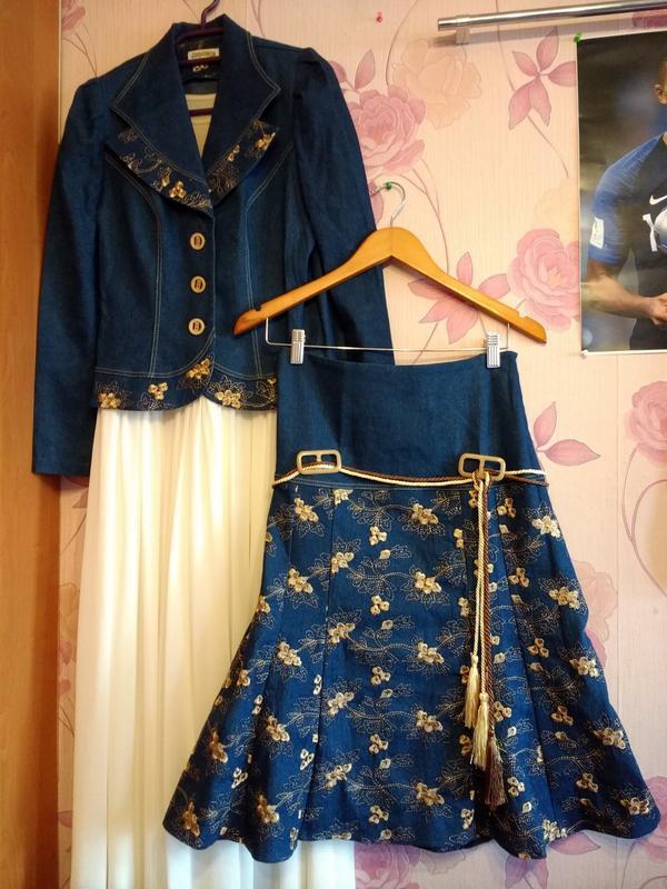 Джинсовий костюм з вишивкою стрекоза1 ... 0b7b81f4e9f72