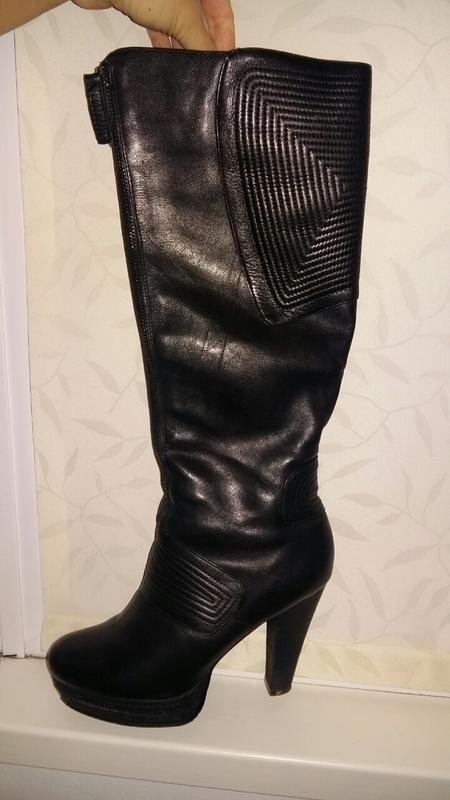 Кожаные зимние сапоги miu miu 40 размера, цена - 450 грн,  17588028 ... 5ee7f36ed54
