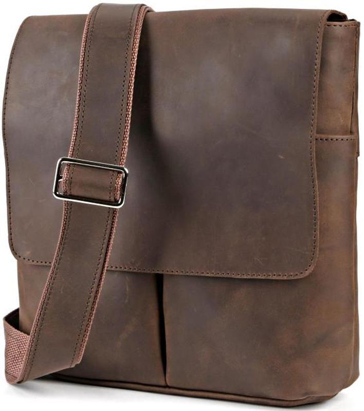 cc58b800d623 Сумка shvigel 00998 из винтажной кожи коричневая, цена - 1708 грн ...