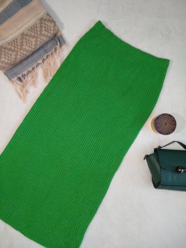 скидки нереальная яркая тёплая вязаная юбка длинная макси Wallis