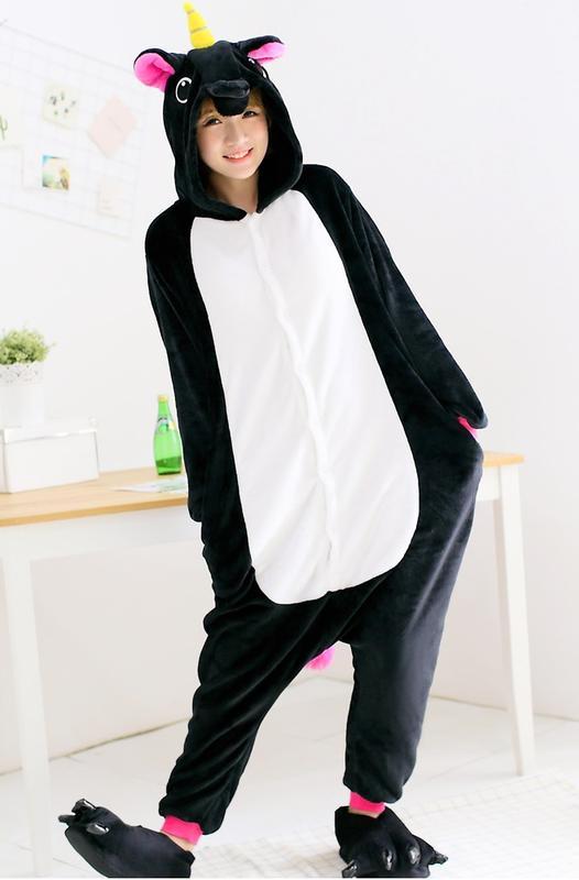 Пижамы кигуруми «единорог черный»1 ... 090933aa8404e